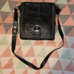 Black Coach Purse, Wallet, Coin Purse, & Dust Bag
